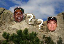 Photo of Atlanta Braves All Time Mount Rushmore