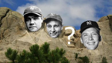 Photo of New York Yankees All-Time Mount Rushmore
