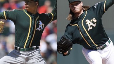 Photo of Oakland's top-two prospects could both debut in 2019