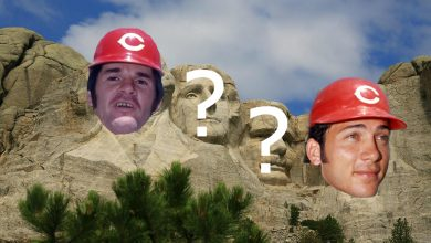 Photo of Cincinnati Reds Mount Rushmore