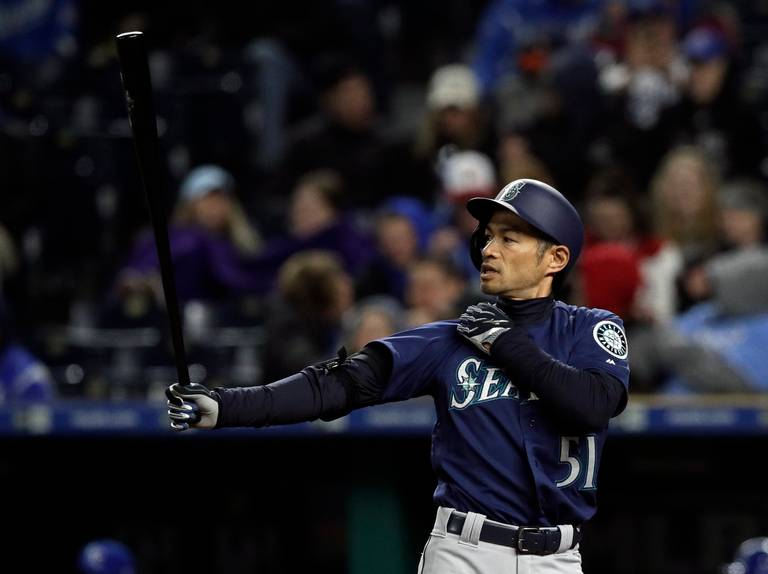 53169e9ced2 Ichiro s time in the MLB is almost over (Photo by Orlin Wagner AP Photo).  The Mariners will start the season with a ...