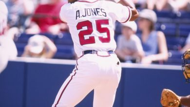 Photo of Andruw Jones' HOF Case