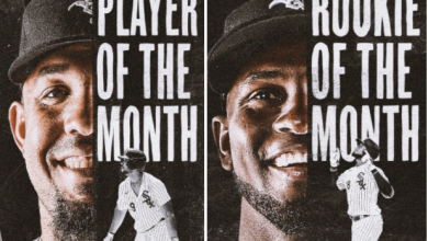 Photo of Jose Abreu and Luis Robert honored in July/August Monthly Awards
