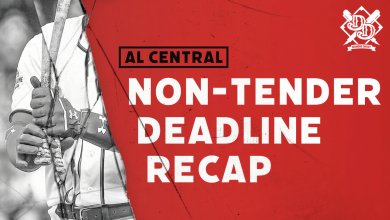 Photo of 2020 Non-Tender Deadline Recap: AL Central