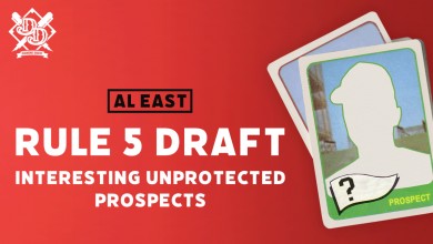 Photo of Highlighting the Rule 5 Draft Eligible Prospects: AL East