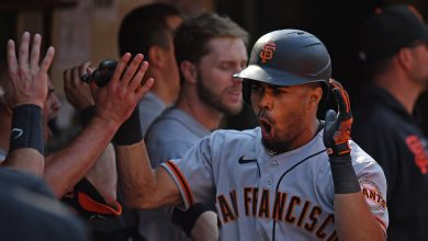 Photo of The Emergence of Giants Outfielder Lamonte Wade Jr.