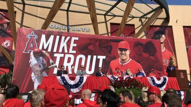 Photo of Mike Trout; Angel for Life