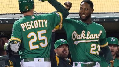 Photo of A's riding 10-game win streak after slow start to the season
