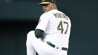 Photo of A's breakout Frankie Montas suspended for PED use