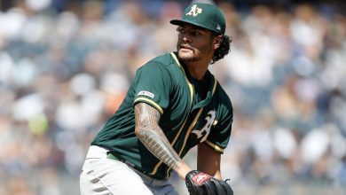 Photo of Sean Manaea dominating since return from shoulder surgery