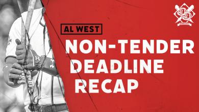Photo of 2020 Non-Tender Deadline Recap: AL West